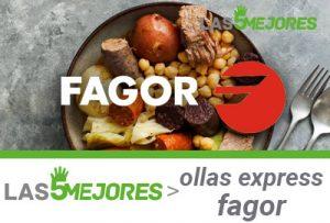 mejores ollas express fagor