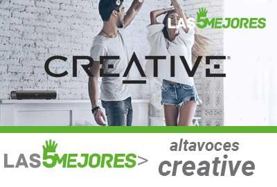 Los mejores altavoces creative