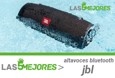 grados resistencia al agua altavoces JBL
