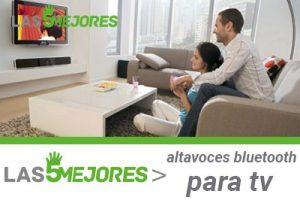 mejores altavoces para tv con bluetooth