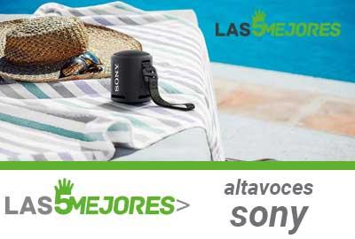 Mejores altavoces bluetooth Sony
