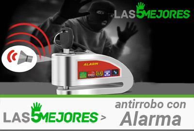 Mejores antirrobos con alarma