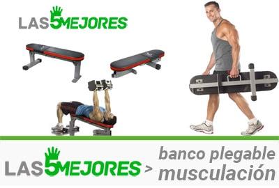 bancos de musculacion plegables