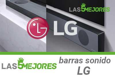 Mejores barras de sonido LG