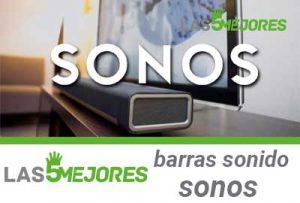mejores barras de sonido Sonos