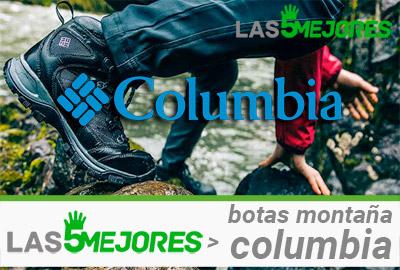 Mejores botas montaña columbia