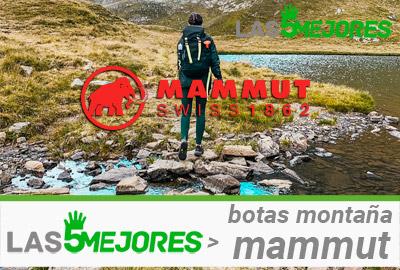 Mejores botas mammut