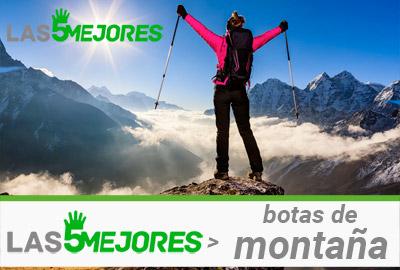 Mejores botas para montaña