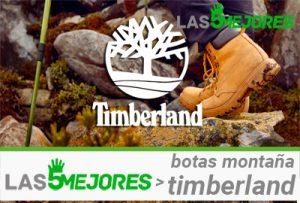 mejores botas montaña timberland