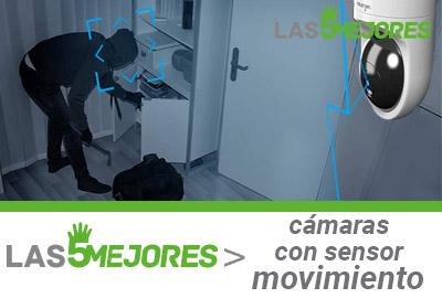 mejores camaras con sensor de movimiento
