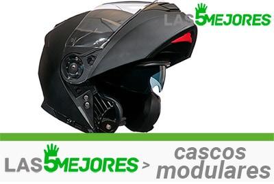 mejores cascos modulares para moto