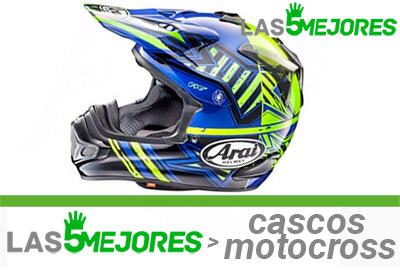 mejores cascos de motocross enduro
