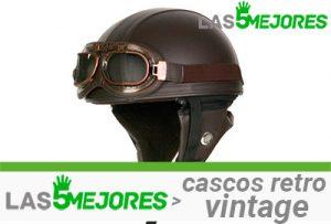 mejores cascos retro vintage