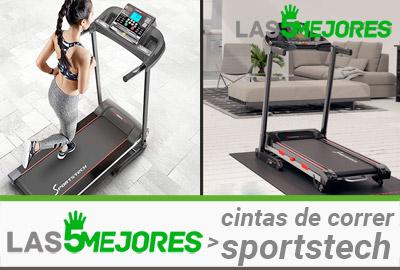 mejores cintas de correr sportstech