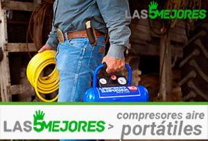 mejores compresores de aire portátiles