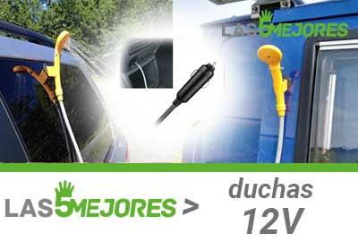 Mejores duchas portátiles de 12V