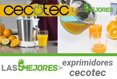 Mejores exprimidores cecotec eléctricos