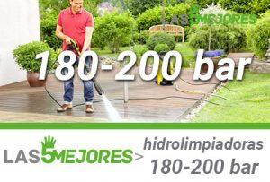 mejores hidrolimpiadoras de 180 a 200 bares