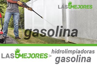 Mejores hdrolimpiadoras gasolina