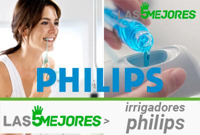 Mejores irrigadores philips