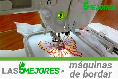 mejores máquinas de bordar