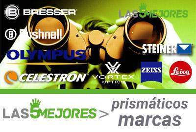 mejores marcas de prismaticos y guias de compra