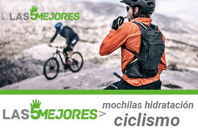 guia de compra de mochilas hidratación ciclismo