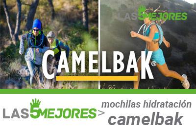 mejores mochilas hidratación camelbak