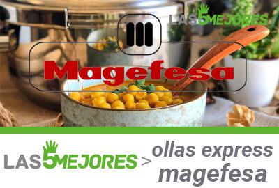 mejores ollas express magefesa