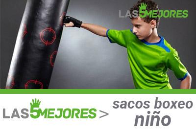 Mejores sacos de boxeo para niño