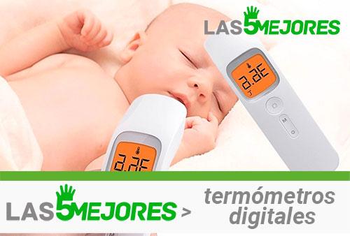 mejores termómetros infrarrojos de frente