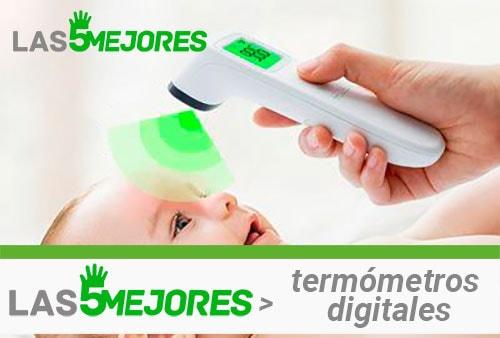 mejores termómetros digitales de contacto de pistola