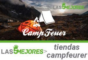 Mejores tiendas para acampar campfeuer