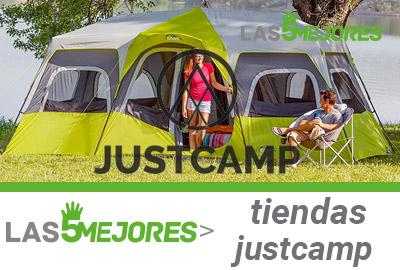 Mejores tiendas de campaña JustCamp