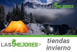 mejores tiendas de acampar de invierno