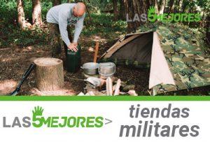 mejores tiendas de acampar militares