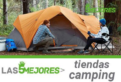 Mejores tiendas de campaña para camping