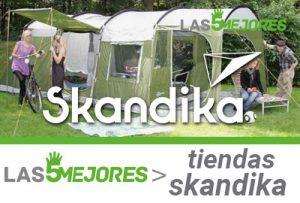 mejores tiendas para acampar skandika