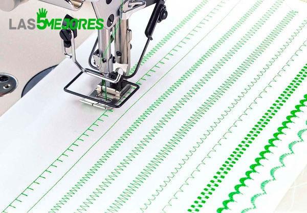 Puntadas maquinas de coser Singer