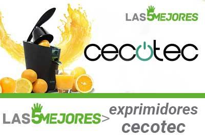 comprar el mejor exprimidor de naranjas cecotec