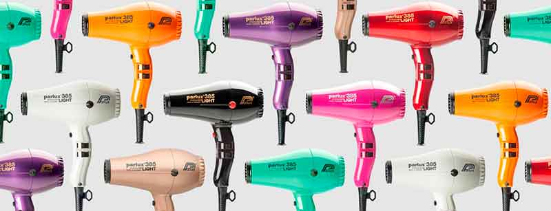 secador parlux 385 colores
