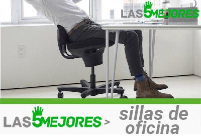 silla de oficina cómoda y reclinable