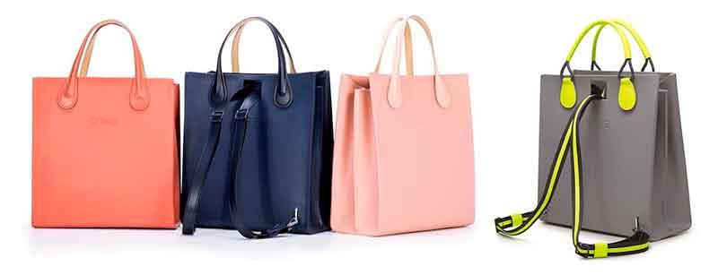Obag Spuare un bolso o una mochila, ideal para mujeres activas