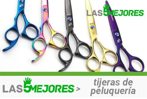 tipos de tijeras de peluquería de colores