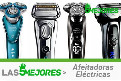 tipos de afeitadoras eléctricas