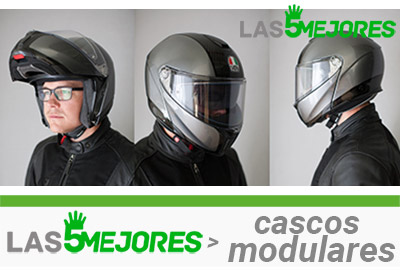 tipos de cascos modulares del mercado